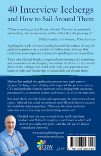 40 Interview Icebergs and How to Sail Round Them by Michael Heath