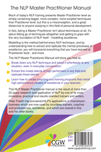 The NLP Master Practitioner Manual by Peter Freeth