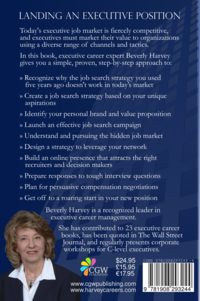 Landing an Executive Position by Beverly Harvey